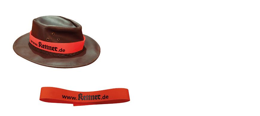 Hatband for hunters