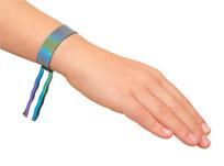 reflective iridescent bracelet